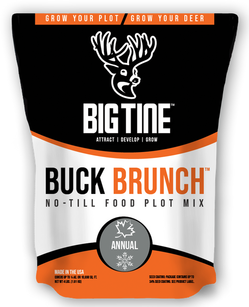 Big Tine Buck Brunch No-Till - 4 LB Bag