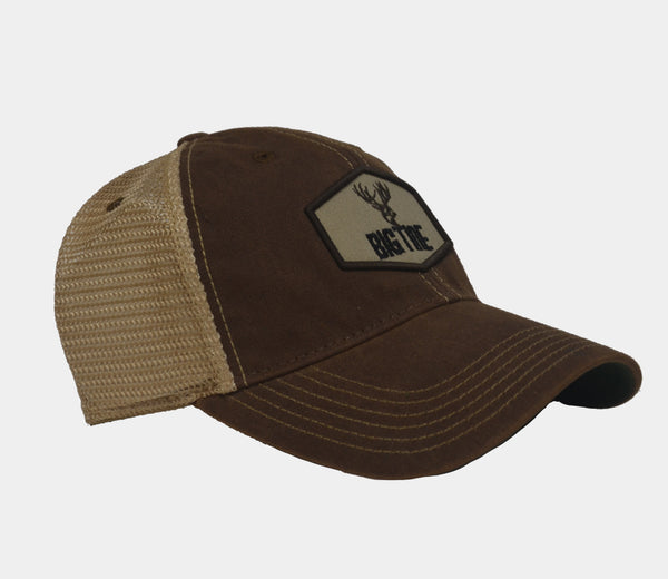 Big Tine Patch Brown Trucker Hat