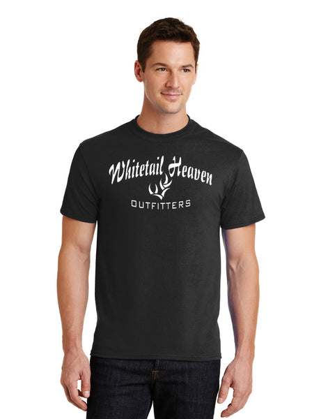 Whitetail Heaven T-Shirt/ Classic Port & Company ® - Core Blend Tee