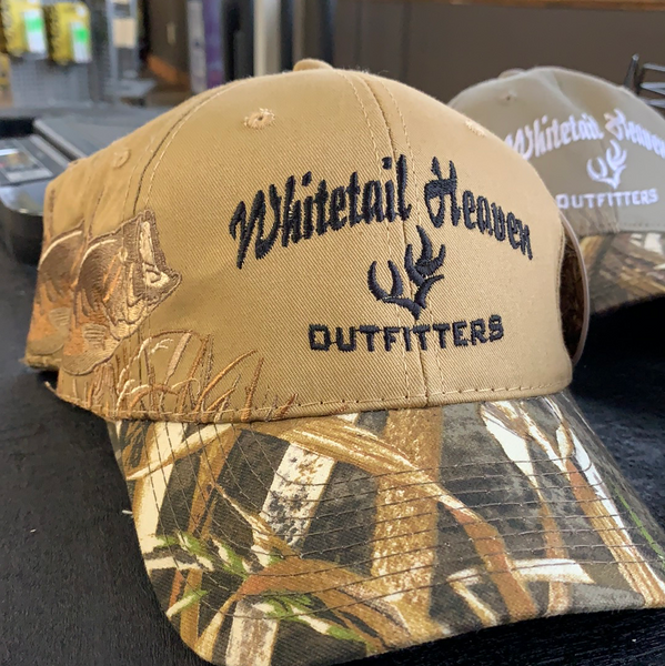 WHITETAIL HEAVEN LARGEMOUTH CAMOUFLAGE CAP