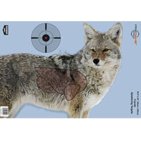 BIRCHWOOD CASEY® PREGAME® 16.5 X 24 INCH COYOTE, 3 TARGETS