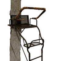 BIG GAME® WARRIOR ELITE ULTRA-WIDE 17' LADDERSTAND