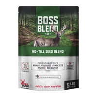 BOSS BUCK® BOSS BLEND NO-TILL SEED