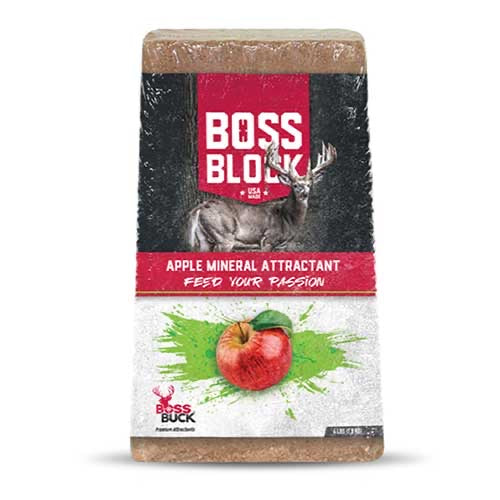 BOSS BUCK® BOSS BLOCK APPLE MINERAL ATTRACTANT