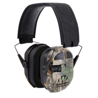 WALKER'S® ULTIMATE POWER MUFF QUADS W/AFT / ELECTRIC / REALTREE XTRA