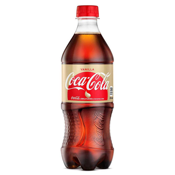 VANILLA COKE 20 OZ.