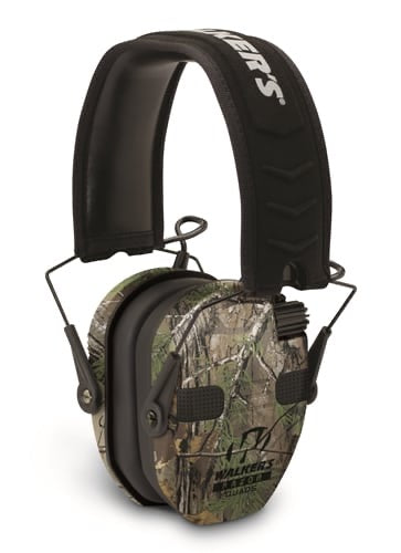 WALKER'S® RAZOR SLIM ELECTRONIC QUAD MUFF-REALTREE XTRA