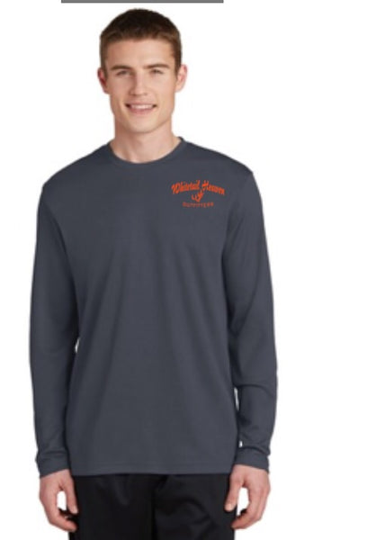 WHO Sport-Tek® PosiCharge® RacerMesh® Long Sleeve Tee