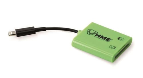 HME™ SD CARD READER FOR IOS