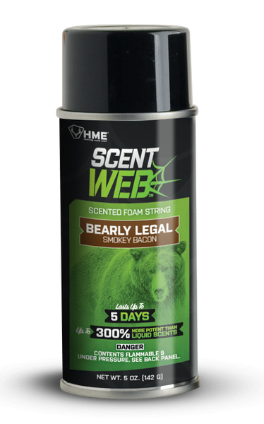 HME™ BEARLY LEGAL SCENT WEB - SMOKEY BACON