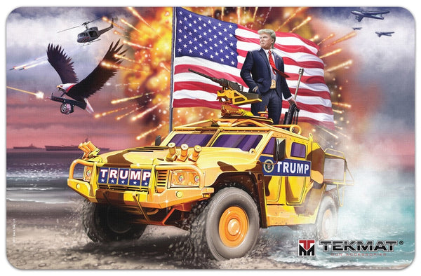 TEKMAT BENCH MAT TRUMP