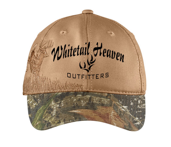 WHITETAIL HEAVEN BUCK CAMOUFLAGE CAP