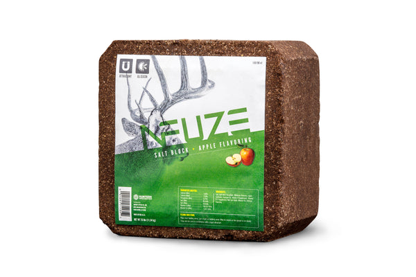 HUNTERS SPECIALTIES® NFUZE SALT LICK BLOCK - APPLE