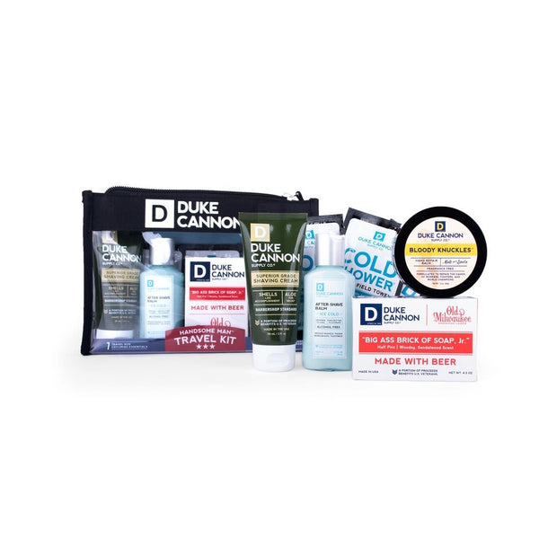 DUKE CANNON® HANDSOME MAN TRAVEL KIT