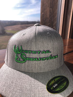 WHITETAIL SEDUCTION FLEXFIT FLAT BILL CAP