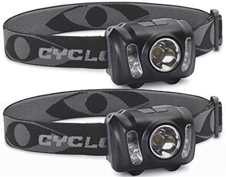 CYCLOPS® 210 LUMEN HEADLAMP 2 PK