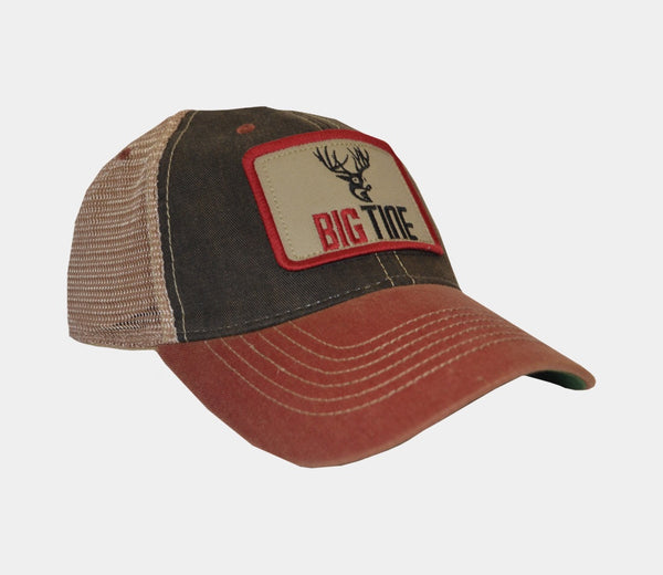 Big Tine Patch Trucker Hat