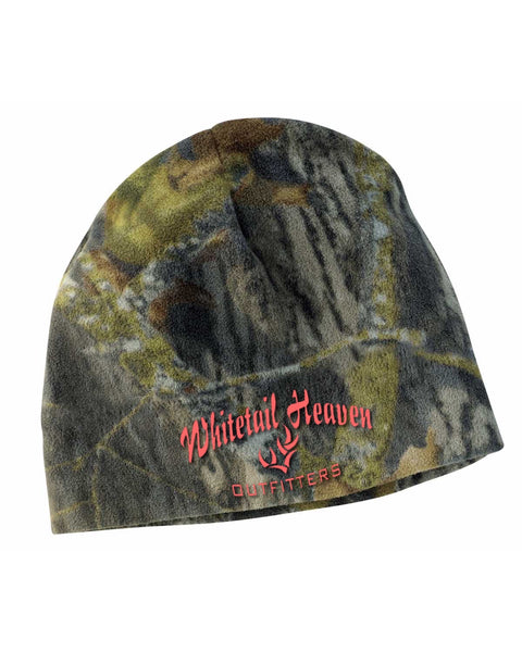 WHO PORT AUTHORITY® CAMOUFLAGE FLEECE BEANIE