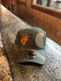 WHO New Era® - Camo Structured Stretch Cotton Cap