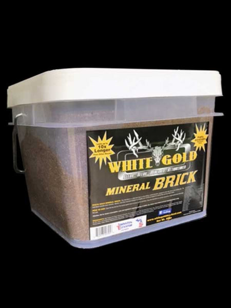 WHITE GOLD - MINERAL BRICK - 25 LBS