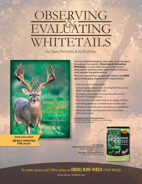 Observing & Evaluating Whitetails (Limited Edition Autographed & Numbered Hardback)