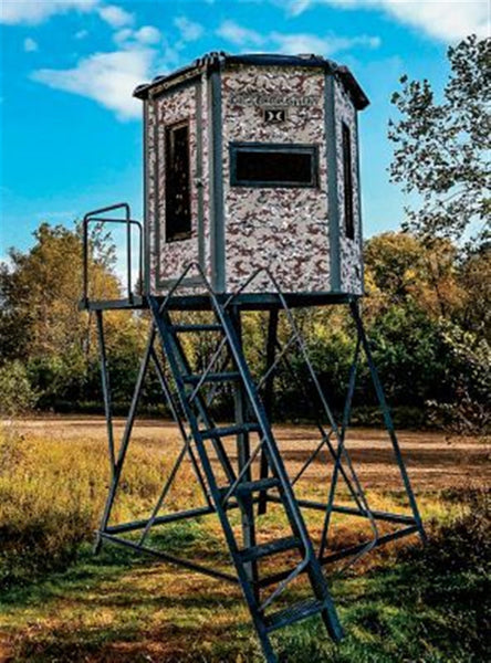 HAWK® HIGH COUNTRY™ HEX-VISION™ BLIND W/ 10' TOWER