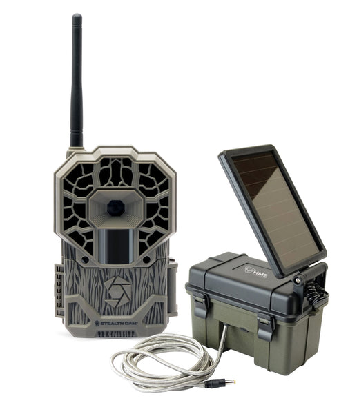 STEALTH CAM® VERIZON WIRELESS CAMERA w/ HME12VBBSLR COMBO