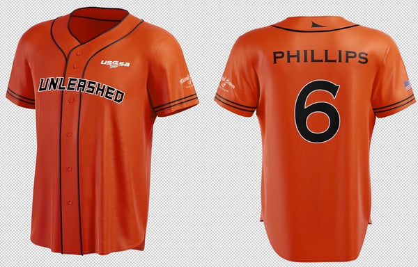 AUTHENTIC WHITETAIL HEAVEN'S UNLEASHED 2020 BASEBALL TEAM JERSEY