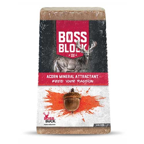 BOSS BUCK® BOSS BLOCK ACORN MINERAL ATTRACTANT