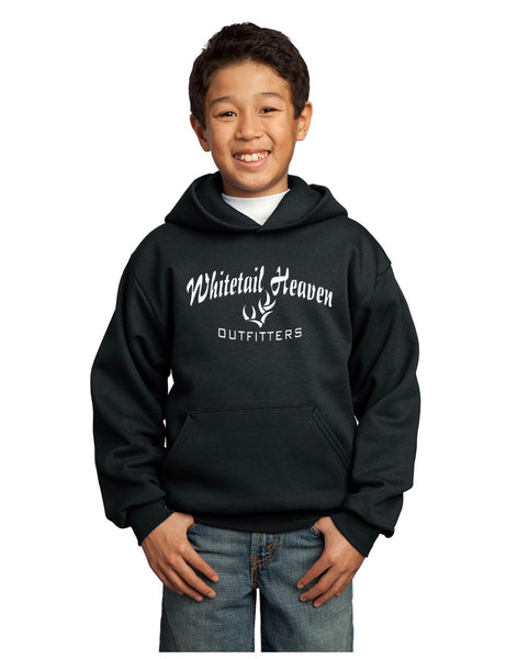 WHO PORT & COMPANY® YOUTH CORE FLEECE PULLOVER HOODED SWEATSHIRT
