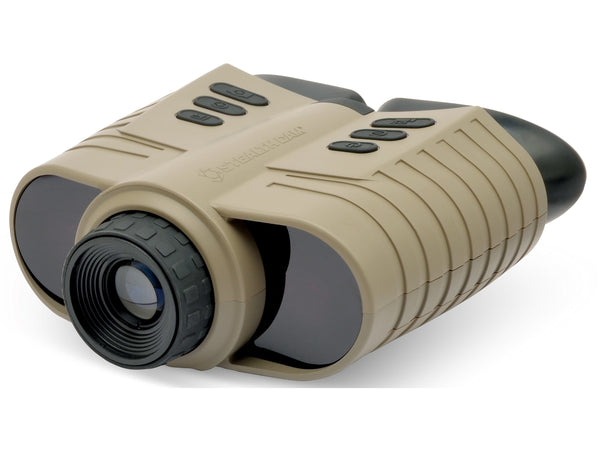STEALTH CAM® SD RECORDING DIGITAL NIGHT VISION 3X MAGNIFICATION BINOCULAR FDE