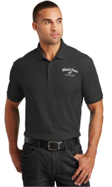 WHO PORT AUTHORITY® CORE CLASSIC PIQUE POLO