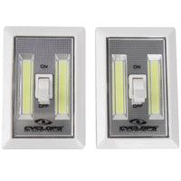 CYCLOPS® 200 LUM COB LIGHT SWITCH 2PK