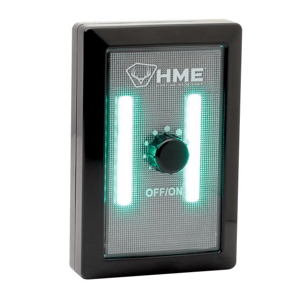 COB GREEN LIGHT WALL SWITCH WITH DIMMER