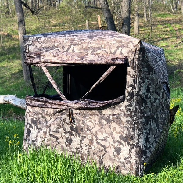 Muddy 174 Infinity 2 Man Pop Up Blind With Tru View Windows