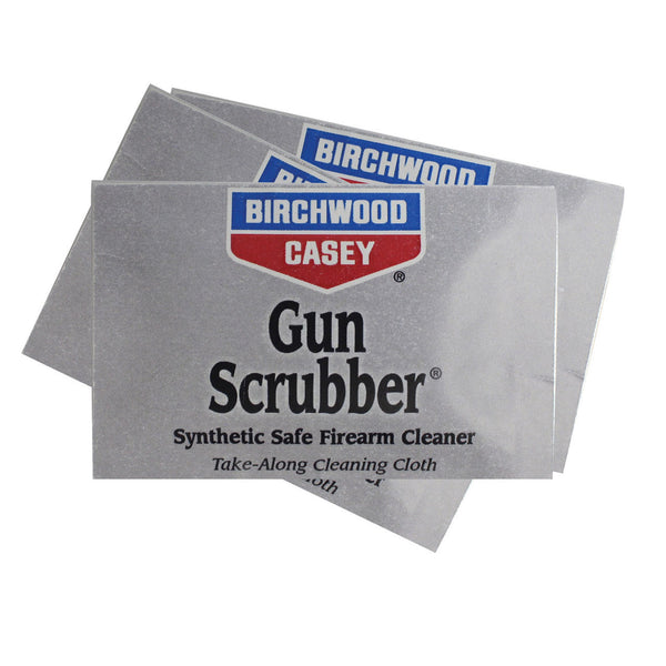 BIRCHWOOD CASEY® GUN SCRUBBER® CLEANING SOLVENT WIPES - 12 PACK
