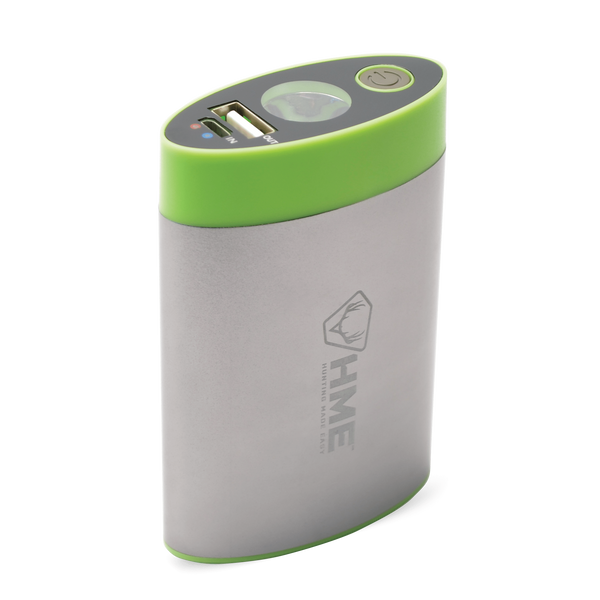 HME™ HAND WARMER – 4,400 MAH WITH BUILT IN FLASHLIGHT
