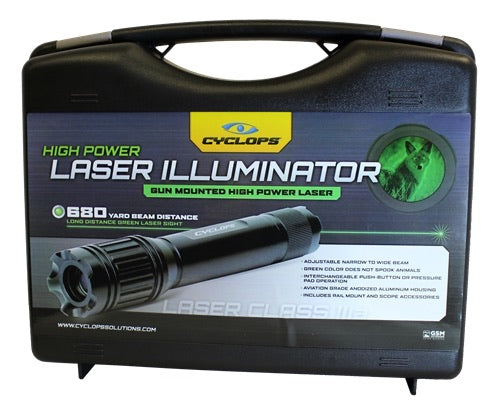 CYCLOPS® GREEN LASER ILLUMINATOR