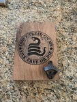 DON'T TREAD ON ME WALL MOUNT BOTTLE OPENER