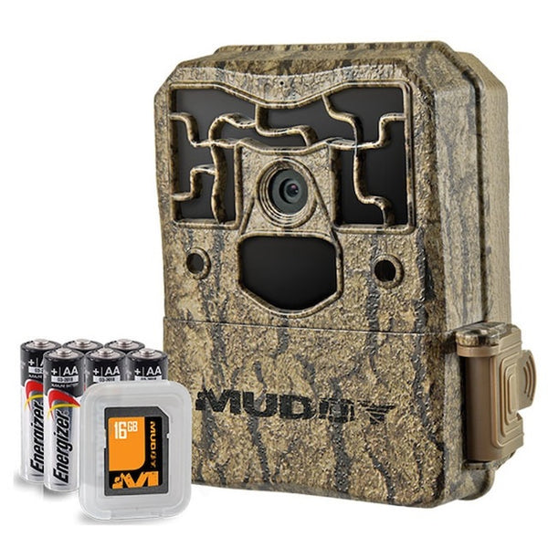 MUDDY® PRO-CAM 20 MEGAPIXEL TRAIL CAMERA BUNDLE