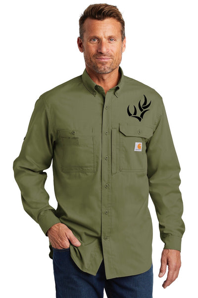 Carhartt Ridgefield Solid Long Sleeve Shirt