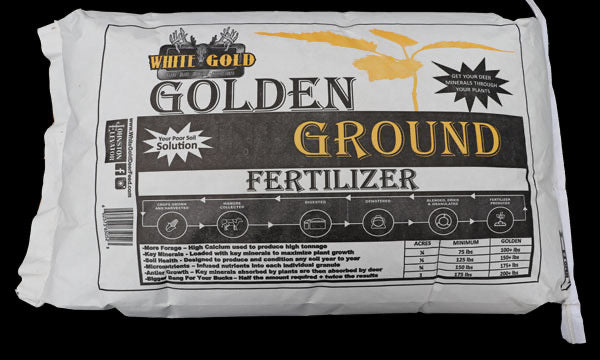 WHITE GOLD GOLDEN GROUND - 50 LBS