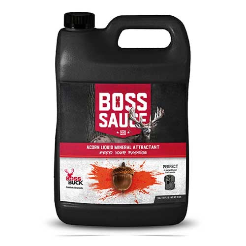 BOSS BUCK® BOSS SAUCE ACORN LIQUID MINERAL ATTRACTANT