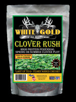 WHITE GOLD CLOVER RUSH - 1/2 ACRE - 5 LBS