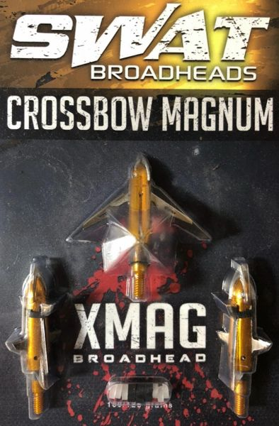 SWAT XMAG BROADHEADS (3-PACK)