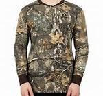 HABIT® MEN'S COPPERMINE CVC HENLEY REALTREE EDGE
