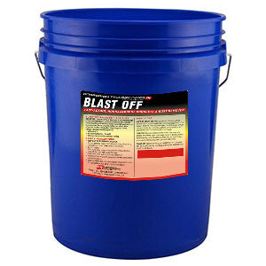 Blast Off  Fast Acting, Non-Hazardous Concrete & Rust Remover