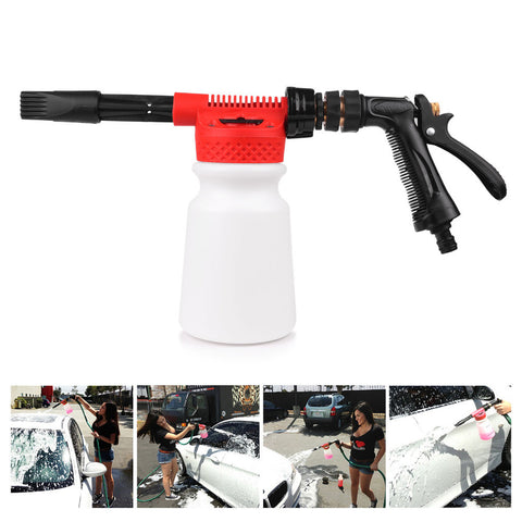 900ml Car Washing Foam Gun Car Cleaning Washing Foamaster Car Water Soap Shampoo Sprayer Spray Foam  for Car Motorcycle