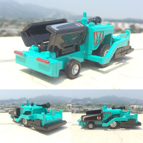 Engineering vehicles,High simulation 1:60 scale alloy Asphalt Paver model,Paving machine ,Flat road car,free shipping
