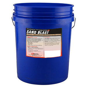 Sand Blast Time Release Concrete Remover Safe for Vehicles, Workers, No Fumes